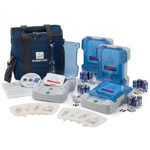 Prestan Professional AED Trainer 4-Pack (w/o Remotes)