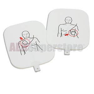 Adult Training Pads for the Prestan Professional AED Trainer