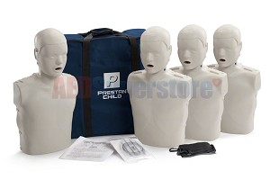 Prestan Child Light Skin Manikin 4-Pack without CPR Monitor