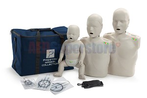 Prestan Collection Light Skin Manikins with CPR Monitor