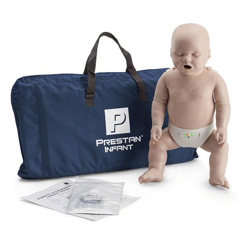 Prestan Infant Medium Skin Manikin Single with CPR Monitor