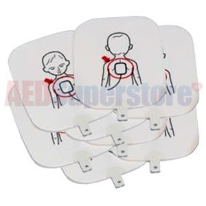 Pediatric Training Pads for the Prestan Professional AED Trainer (4 Sets)