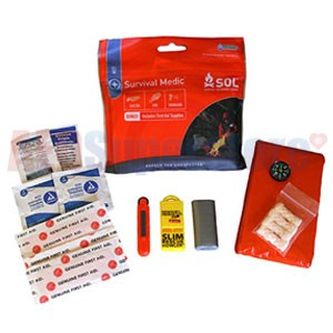 SOL Survival Medic Survival Kit by Adventure Medical Kits