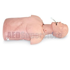 Simulaids Adult Airway Management Trainer Torso w/Carry Bag