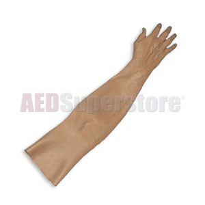 Laerdal Replacement Adult IV Arm Skin w/Thumb - Black