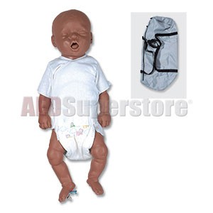 Simulaids CPR Bonnie African-American Newborn Basic w/Carry Bag