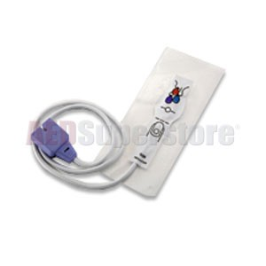 Physio-Control LIFEPAK® 12/20 Sensor Oxisensor II Pediatric Disposable for  Units with Nellcor Sp02 - 24/box