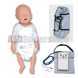 Simulaids CPR Cathy Newborn Basic w/Carry Bag w/Electronics