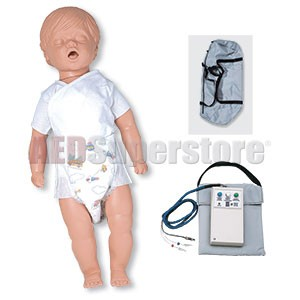 Simulaids CPR Billy Manikin - 6 to 9 Month Old Basic w/Carry Bag w/Electronics