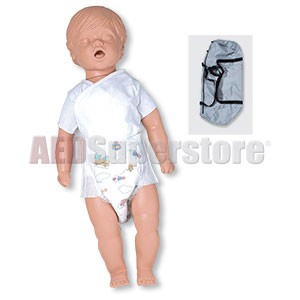 Simulaids CPR Billy Manikin - 6 to 9 Month Old Basic w/Carry Bag