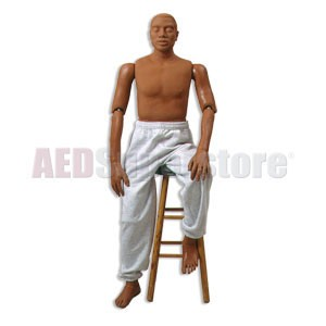 Simulaids Rescue Rudy African American Manikin (145 lbs. - Weighted)