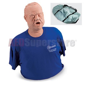 Simulaids Obese Choking Manikin w/Carry Bag