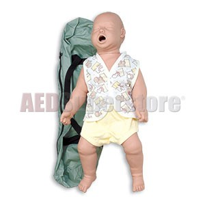 Simulaids Infant Choking Manikin w/Carry Bag