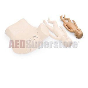 Simulaids Premie Baby for Forceps/Vacuum Delivery OB Manikin