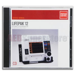 Physio-Control LIFEPAK® 12 Manual, CD-ROM for LIFEPAK 12 and BSS2