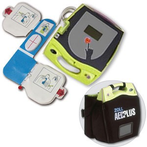 ZOLL® AED Plus® Professional Rescuer Interface Display