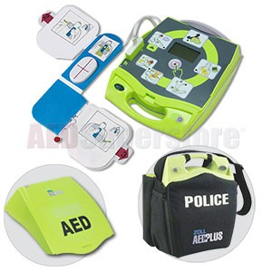 ZOLL® AED Plus® POLICE Package