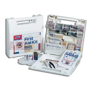 FAO 50 Person, 195 piece ANSI kit w/Plastic Case