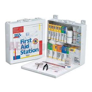 FAO 50 Person, 196 Piece  Kit w/Metal Case