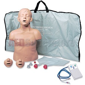 Simulaids Brad Jr Manikin w/Electronics & Carry Bag