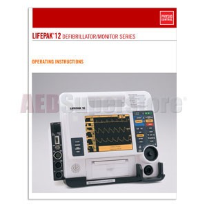 Physio-Control LIFEPAK® 12 Monitor/Defibrillator Operating Instructions