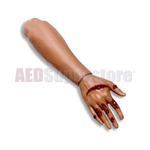 Laerdal Adult Male Right Forearm w/Lacerated Dorsum Hand