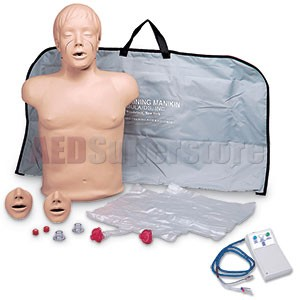 Simulaids Brad Manikin w/Electronics & Carry Bag