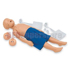 Simulaids JT (Jaw Thrust) Kyle Manikin w/Carry Bag