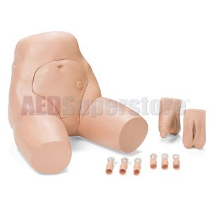 Laerdal Trainer Interchangeable Catheterization and Enema Simulator