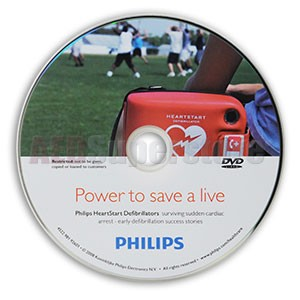 Philips Heartstart Defibrillation Success Stories Video (DVD)
