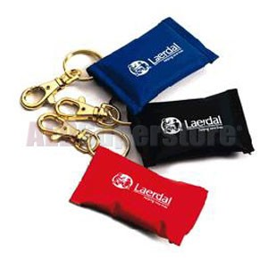 Laerdal Face Shield CPR Barrier Keychain Multi-Color (25 pk)