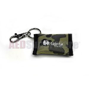 Laerdal Face Shield CPR Barrier Keychain Camouflage (25 pk)