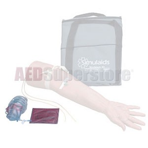 Simulaids Geriatric IV Training Arm Replacement Veins