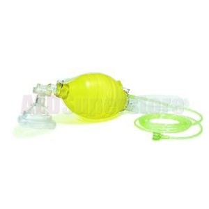 Laerdal The Bag II Disposable Resuscitator, Adult, #4 Mask