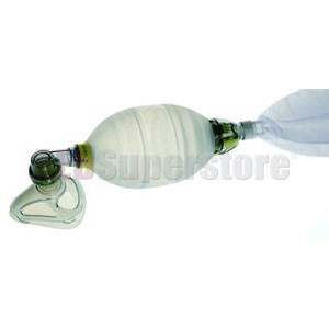 Laerdal LSR Reusable Resuscitator Standard w/Adult Mask 4-5+