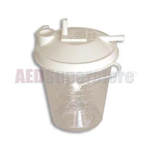 Laerdal Suction Canister 800ml w/Lid (48/ea)