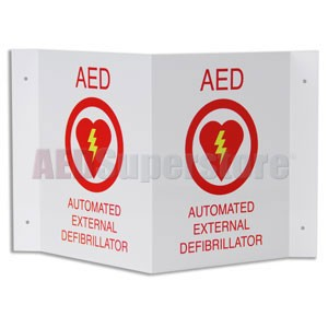 ZOLL® Medical Projection Wall Sign 'OEM'