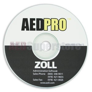 ZOLL® AED PRO® (ZAS) Admin Software CD