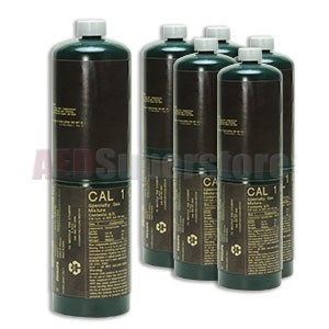 Gas Cylinders for Calibration (6pk) for Philips HeartStart MRx Monitor/Defibrillators