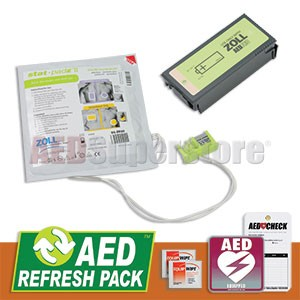 ZOLL AED Pro with Stat Padz II AED Refresh Pack