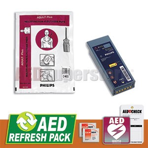 Philips HeartStart FR2/FR2+ AED Refresh Pack