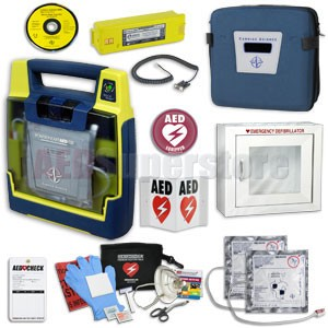 Cardiac Science Powerheart G3 AED Small Business Value Package