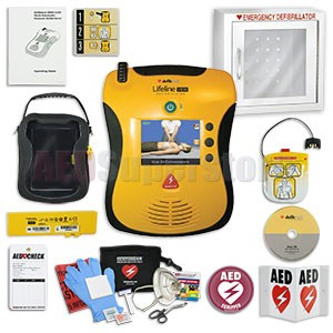 Defibtech Lifeline VIEW / ECG / PRO AED Small Business Value Package