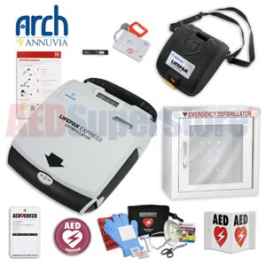 Physio-Control LIFEPAK EXPRESS AED Complete Value Package