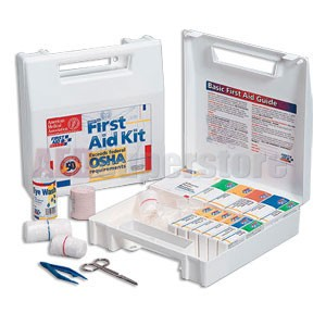 FAO 50 Person, 196 Piece  Kit w/Plastic Case