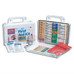 FAO 16 Unit, 94 Piece Unitized ANSI Kit, Plastic Case w/Gasket