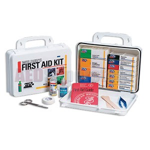 FAO Welder's First Aid Kit - 16 Unit, 113 Piece Bulk Kit