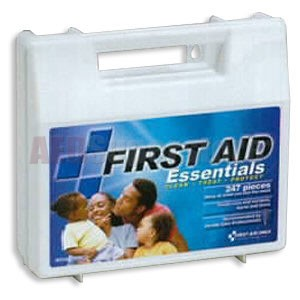FAO Economy 247 Piece First Aid Kit, w/Durable Plastic Case