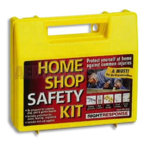 FAO 51 Piece Home Shop Safety Kit w/Large Plastic Case