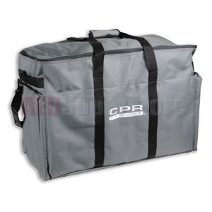 CPR Prompt® (Gray) Large Nylon Manikin Carry Bag